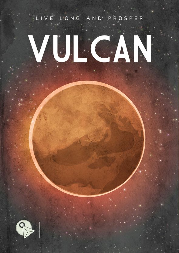 Science fiction travel posters help you pick your next off-planet vacation
