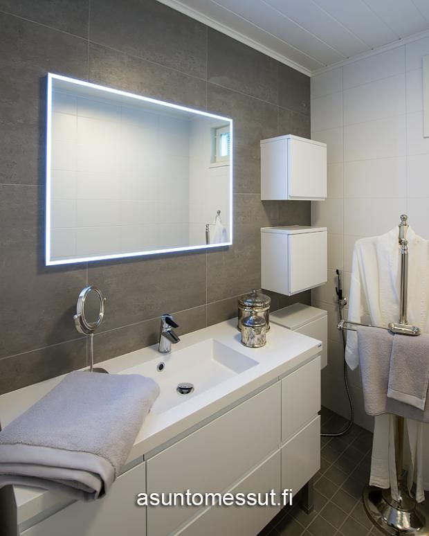 5 Käpylä 221 - Kylpyhuone / WC | Asuntomessut pikkukaapit