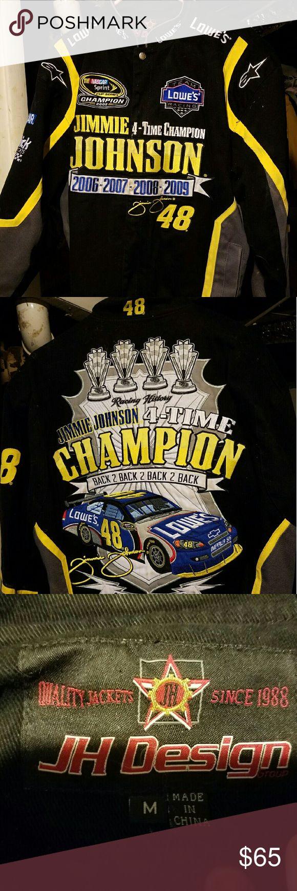 Jimmie Johnson NASCAR Jacket Anniversary addition Jimmie Johnson jacket Jackets & Coats
