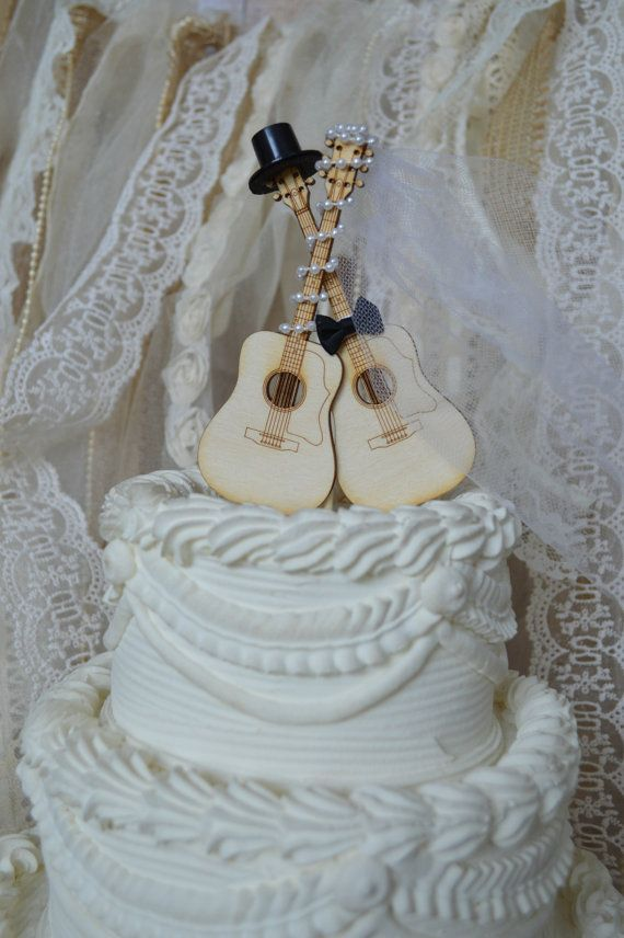 wedding cake toppers guitar groom best 25 guitar wedding ideas on musician 26486