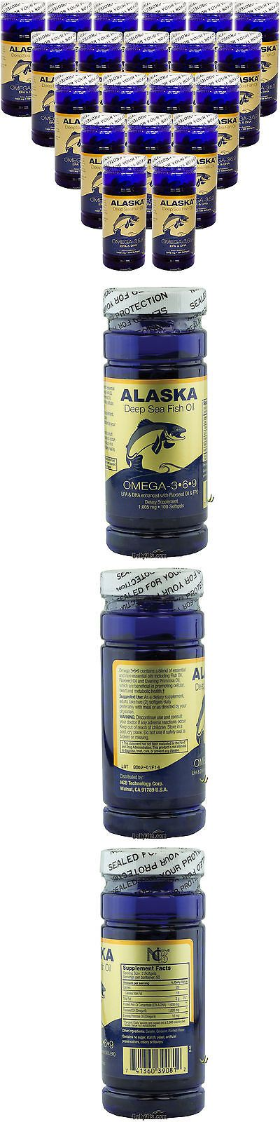 wholesale Other Whlsl Health and Beauty: 20 X Alaska Deep Sea Omega-3-6-9 Fish Oil Epa Dha 100Sg, Fresh, Made In Usa -> BUY IT NOW ONLY: $73.95 on eBay!