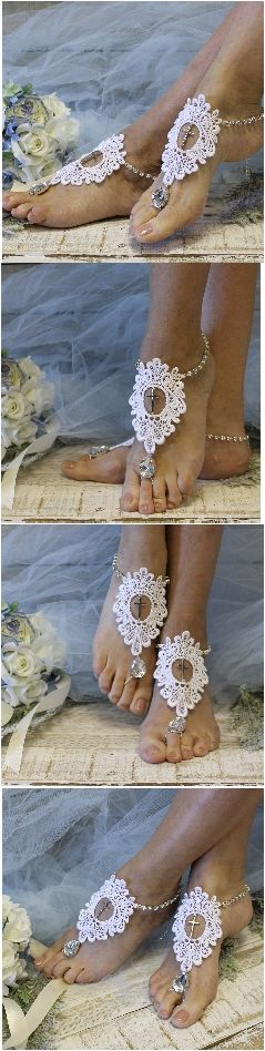 289 best Barefoot Sandal Foot Jewelry Beach Wedding Accessories