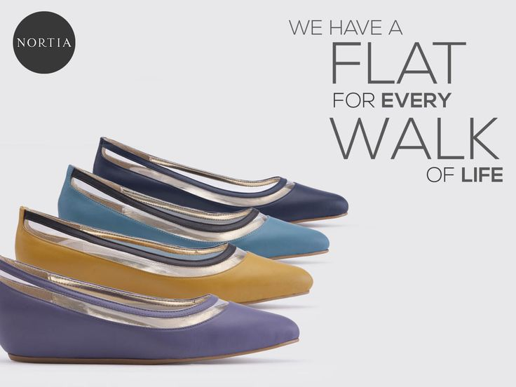 We Have Flat for every Walk of Life visit www.nortia.shoes #fashion #smartlooks #leathershoes