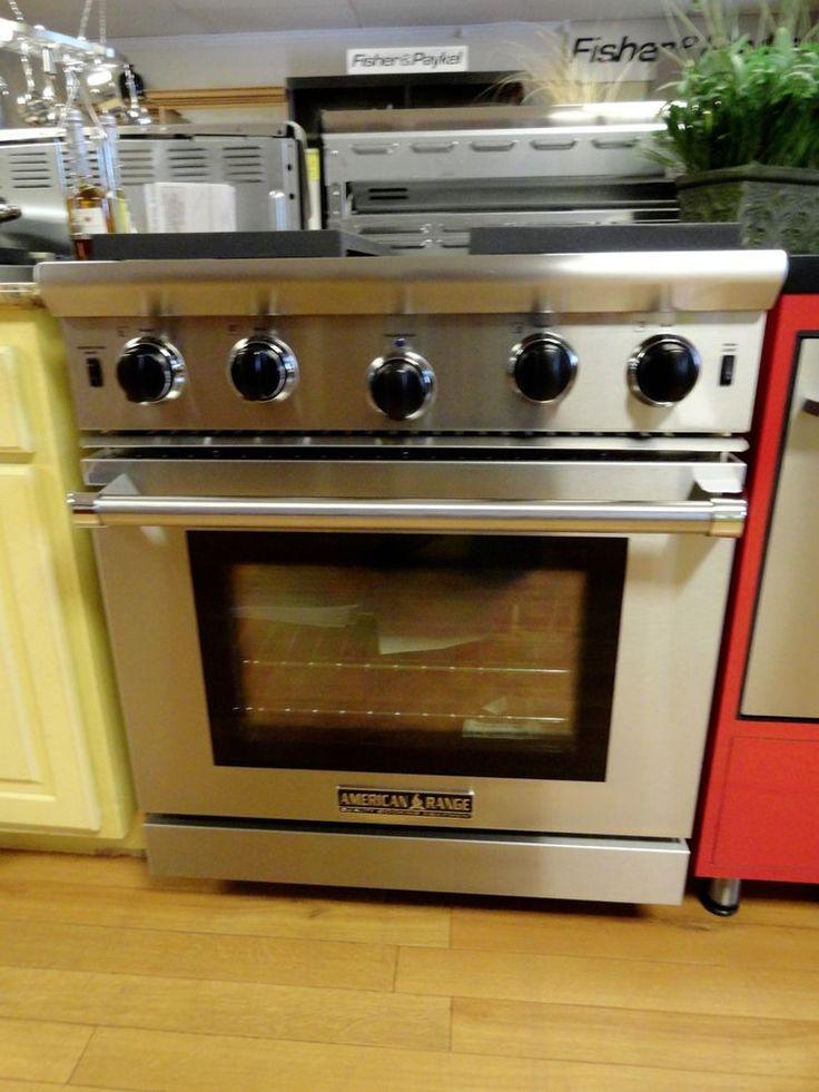 American Range ARROB 430 Residential Kitchen Range Performer Series 30Stainless For The Home