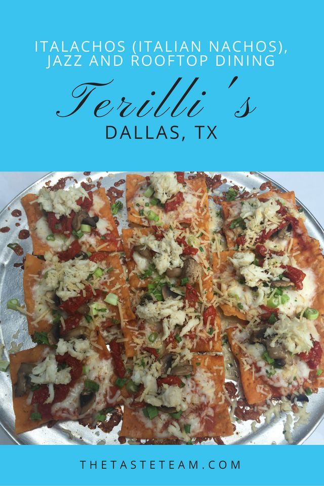Terilli's Italachos Dallas Texas