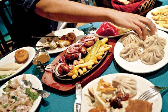 Georgian food in Brooklyn