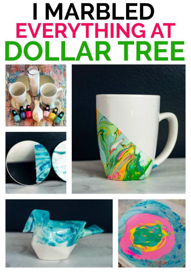 Nagellack-Marmorierung für die Leute, die sagen, dass sie nicht kreativ sind – crafts