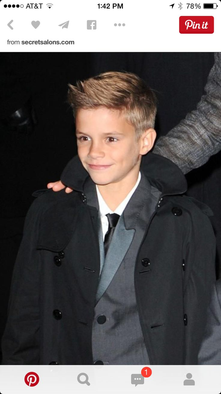 Stupendous 1000 Ideas About Little Boy Hairstyles On Pinterest Little Boy Hairstyles For Men Maxibearus