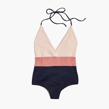 minimalistic one-piece swimsuit // Madewell