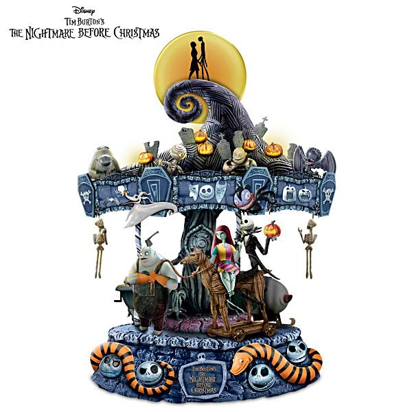 Tim Burton's The Nightmare Before Christmas Carousel
