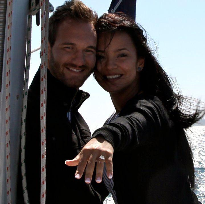 Nick & Kanae Vijicic  An inspirational couple who run Life Without Limbs.