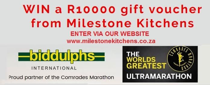 This is your chance to win a gift voucher from Milestone Kitchens valued at R10 000! You can enter though our website at: http://www.milestonekitchens.co.za/1.Milestone-Kitchens-Hom…