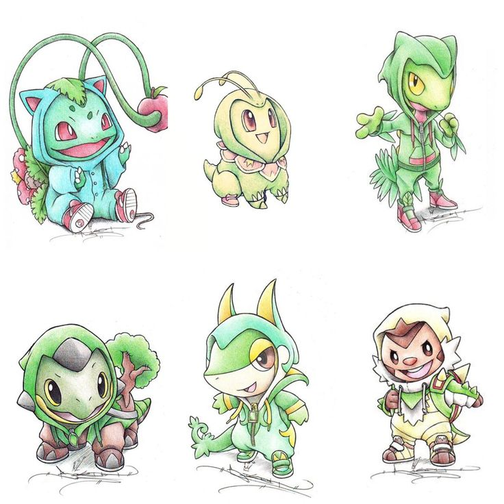 Grass starters by itsbirdy