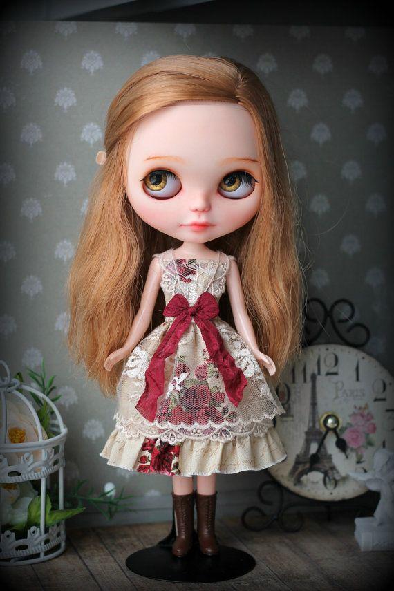Dress for Blythe doll  1/6 size
