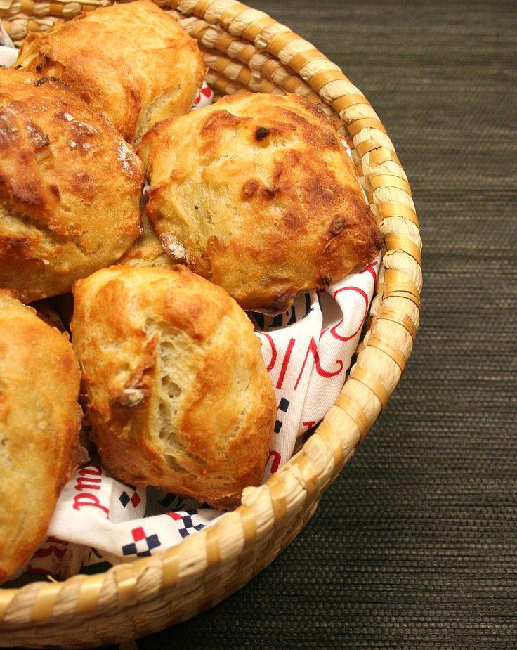 Petits pains à l'oignon