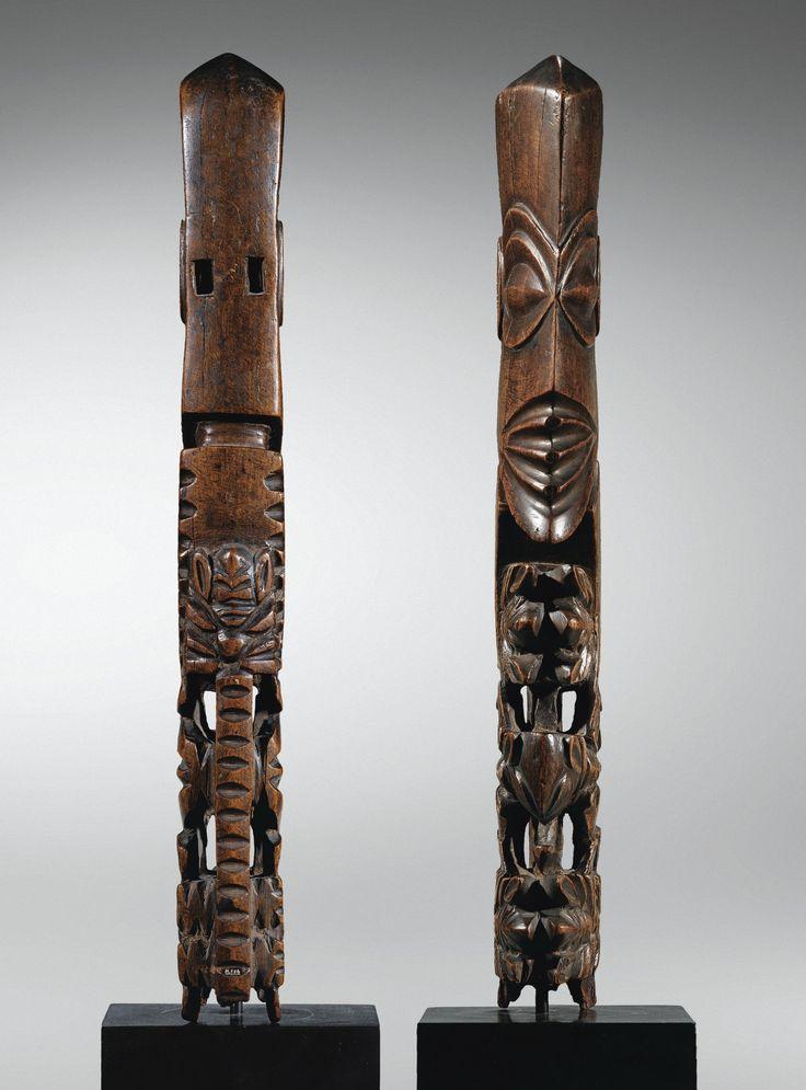 "Tête d'un ""Dieu-Bâton"", <em>atua rakau</em>,Rarotonga, Îles Cook | Lot | Sotheby's"