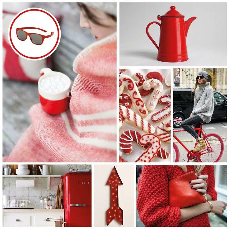 MONDAY MOODBOARD: COSY RED. Start your week with color inspiration! In this weekly Monday Moodboard it's all about red. Focus: The holiday season.   Ice-Watch Eyewear model: Pulse-red.  https://www.facebook.com/photo.php?fbid=665583086814615&set=a.624733494232908.1073741830.622477121125212&type=1&theater