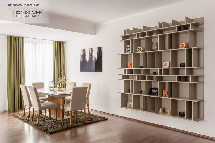 Play hide & display with your storage sollutions | Dining with BoConcept furniture in an apartment designed by Scandinavian Design House