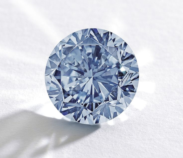 The Premier Blue, the largest Round Brilliant Cut Internally Flawless Fancy Vivid Blue diamond ever to appear at auction.  At 7.59 carats, this stunning blue diamond is also the largest of its kind to be graded by the GIA.