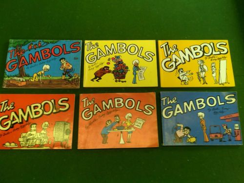 I used to collect all The Gambols cartoon books