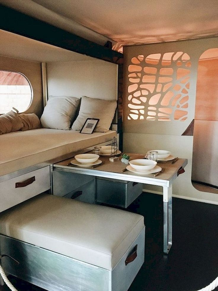 Top 20 RV Camper Interior Hack and Renovations That Easy To Do Self
