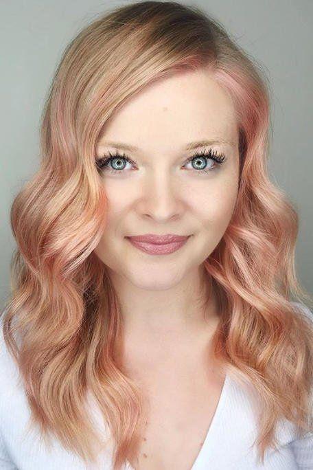 Strawberry blonde brunette redhead think