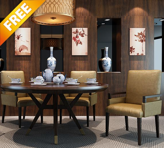 FREE SAMPLE 3D MODEL INTERIOR 01 This 3d Models Collection Is Designed For Architectural Visualizations Made In 3ds MAX Total Size 266 MB I