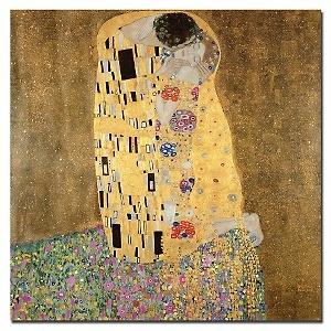 'The Kiss' by Gustav Klimt: Kiss 1907 8, The Kiss, Oil On Canvas, Canvas Art, Art Prints, Canvas Wall Art, Kiss 19078, Gustav Klimt, Kisses