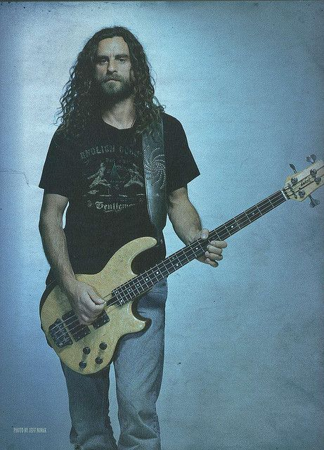 The GREAT Justin Chancellor  by Erick_Alvarado, via Flickr