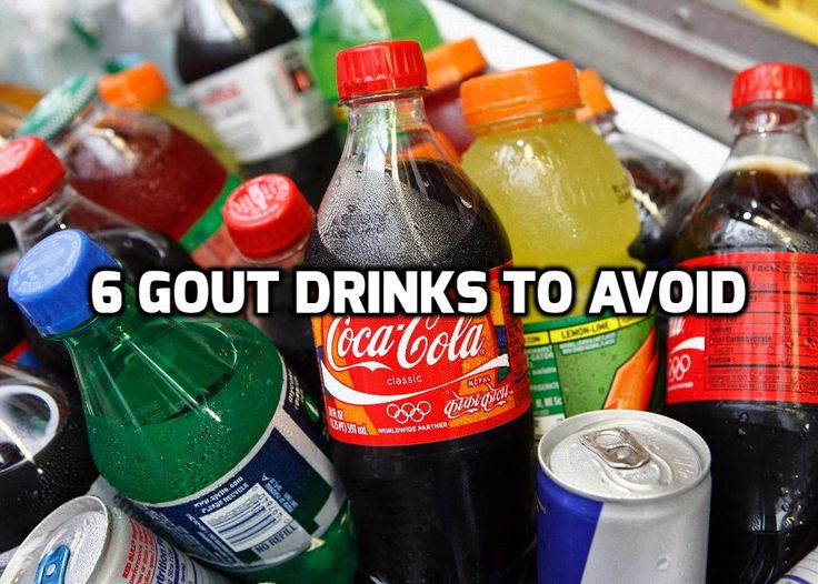 6 Gout Drinks to Avoid