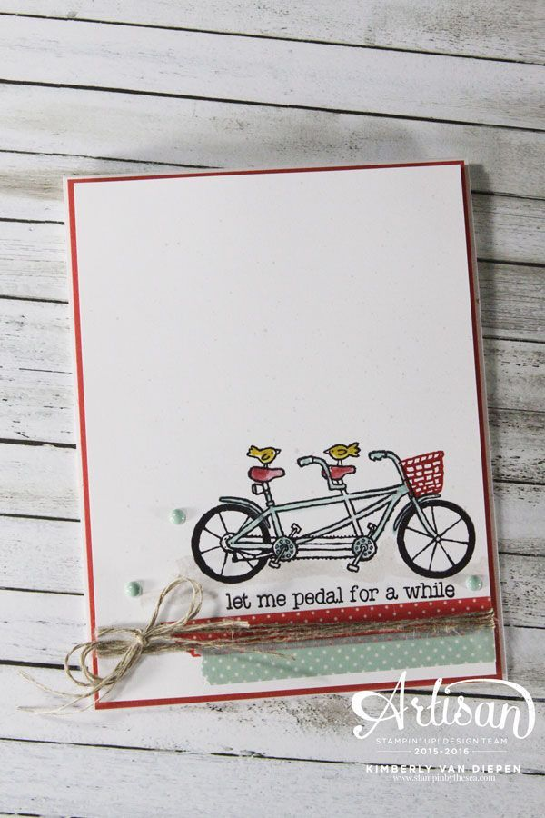 Pedal Pusher- Stampin' Up!