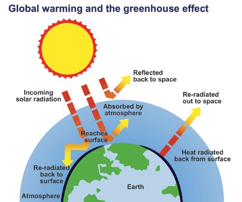 global warming cause and effect Carbon dioxide (ca) which is an important institution of environment is causing a  warming effect on the earth's surface it increases the evaporation of water into.