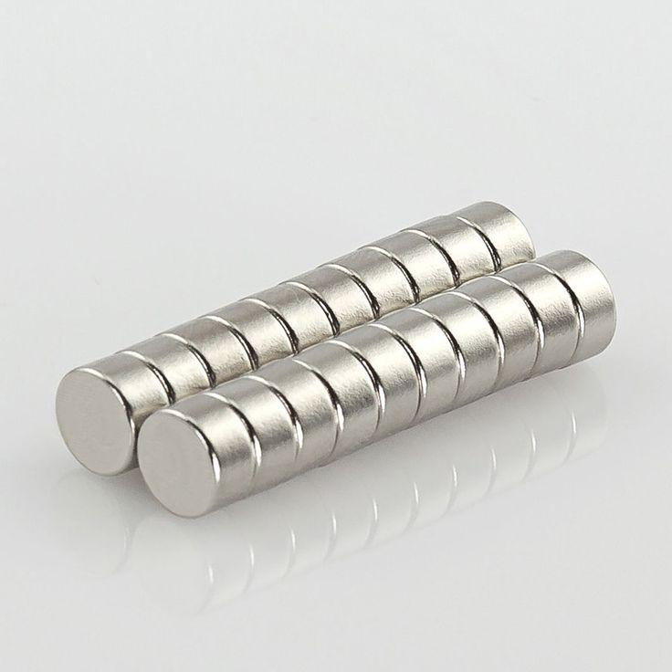 Neodym Magnet Extrem N45 ø 6 x 3 mm in Magnete  • Scheibenmagnete