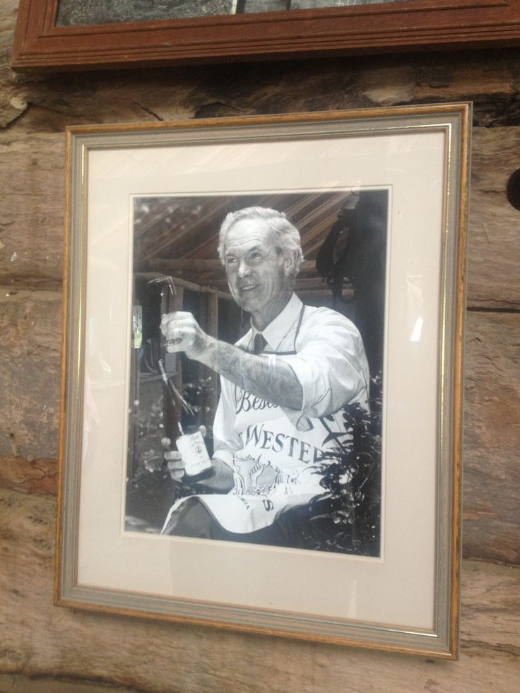 The legendary Viv Thomson from Bests wines