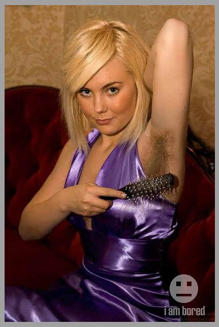 Woman With Unusually Long Armpit Hair Pic  I Am Bored -4712