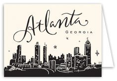"""atlanta"" skyline silhouette - Google Search"