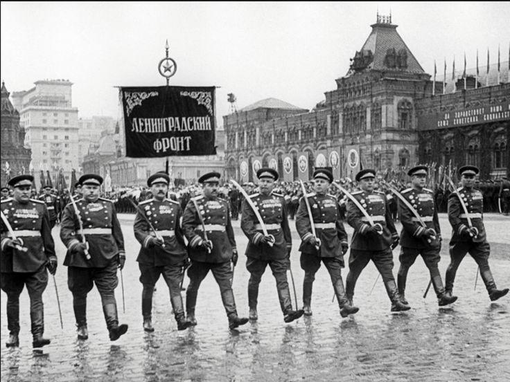 Парад Победы, Москва. 1945 год