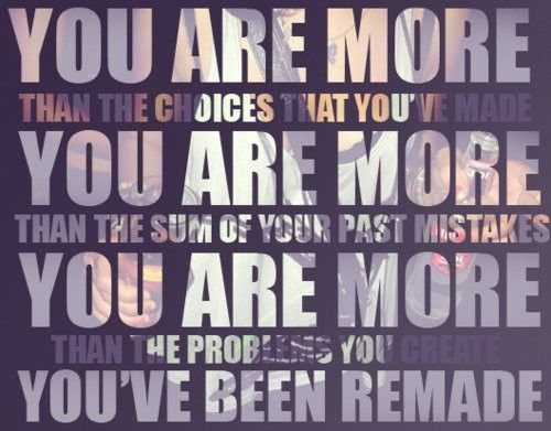YOU ARE MORE (This comes from one of my favorite Christian songs)