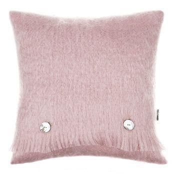 Tyne Mohair Pillow - 40x40cm - Dusky Pink