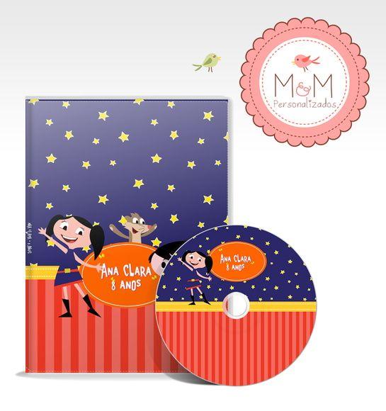 DVD + Capa Personalizados - Show da Luna