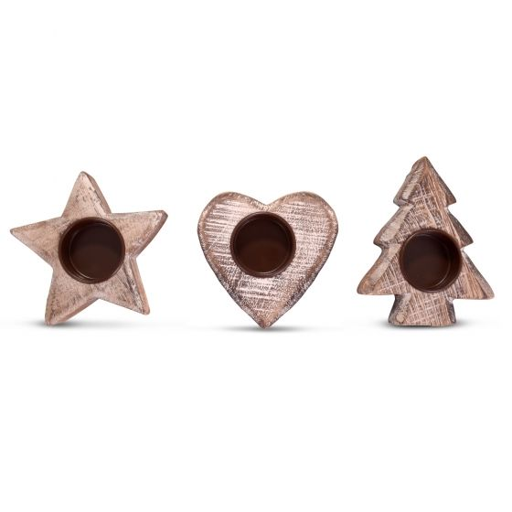 97 best Tealight holders images on Pinterest | Wooden candle ...
