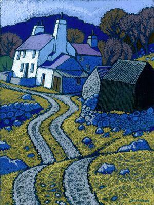 CAE GLAS,CHRIS NEALE landscape artist