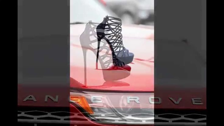 #Spring / Summer 2014 Gianmarco Lorenzi #heels & a Range Rover... Our S/S 2014 Italian Shoe collection is almost completely online, see our New Arrivals at http://www.rinastore.com/new-arrivals, and our Gianmarco Lorenzi #Italian   #Shoes at http://www.rinastore.com/women-gianmarco-lorenzi/