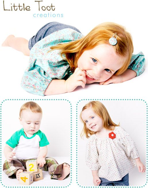 Kids Fashion Photography for Little Toot Creations.