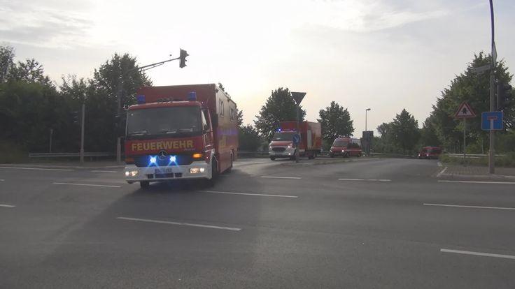 Kolonnenfahrt Bereitschaft 4 Bonn + Rhein-Sieg-Kreis zum Unwetter in Düs...