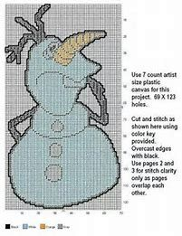 Image result for Frozen Disney Plastic Canvas Patterns