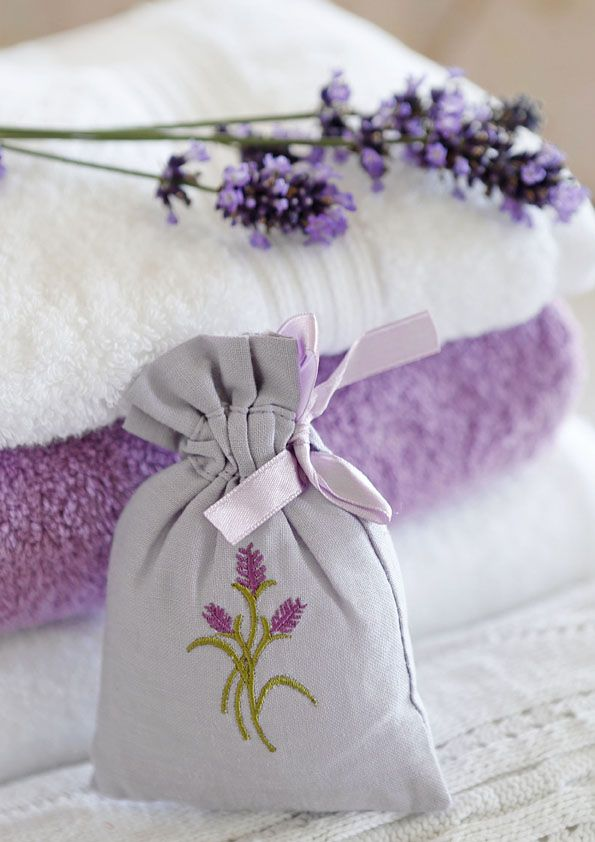 Lavendelduft. #lavender #towel