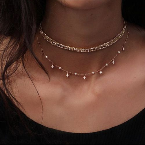 dainty delicate necklace