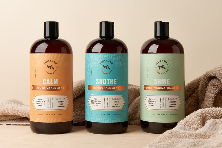 Rocco & Roxie Supply Co. Shampoo — The Dieline - Branding & Packaging…
