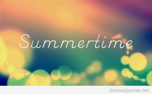 It s summertime 2014